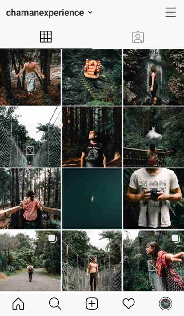 feed instagram antiguo