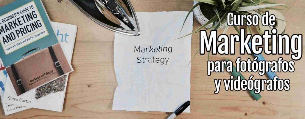 Curso de marketing para fotógrafos y videógrafos