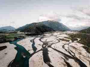 río taramakau nueva zelanda