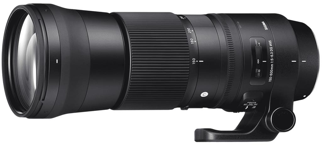 objetivo 150-600mm para fotografía de aves