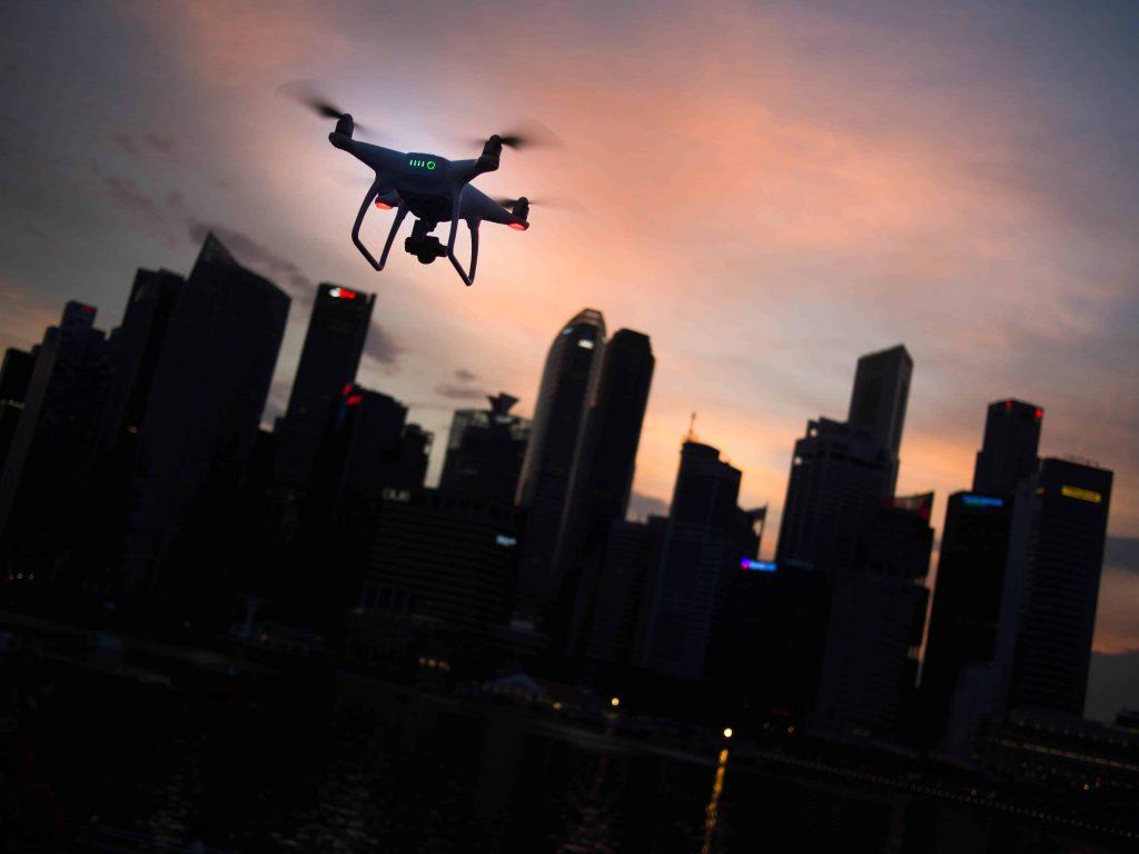 batería del drone
