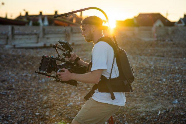 grabación de un video corporativo